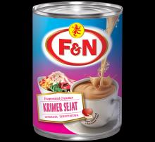 F&N Evaporated Milk.