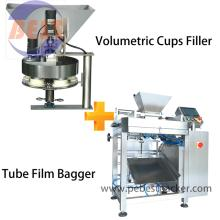 Cereals Breakfast Bagging Packing machine with PE Polyolefin Shrink Film Rolls