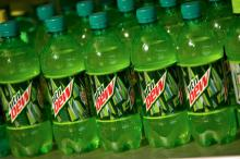 Mountain Dew for sell.
