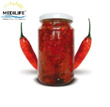 Hot pepper Sauce in Glass Jar 190 gr ,Hot Tunisian Harissa