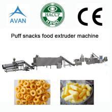Twin screw puff snacks food  extrusion   machine