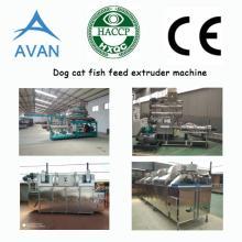 Dog cat fish feed making machine