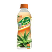 350ml Bottle Natural Aloe Vera Juice with Basil seed juice