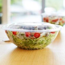 Food grade big  size   plastic  salad bowl