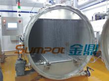 SUMPOT water cascading retort sterilizer for canned food