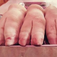 Frozen Pork Ear / Frozen Pork Feet, Pig Feet / Frozen Pork Front Feet