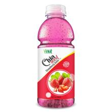 20 fl oz VINUT Bottle Chia seed drink with Strawberry juice