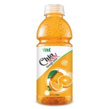20 fl oz VINUT Bottle Chia seed drink with Orange Juice