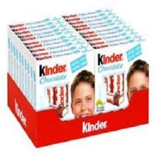 Kinder  Chocolate T4 50g /  Kinder  Chocolate 100g T8 /  Kinder   Bueno  43g