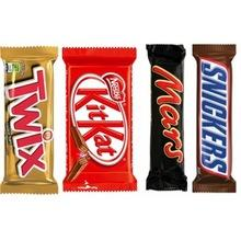 Nutella, Snickers, Twix, Bounty for sale