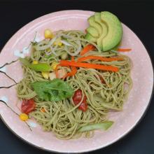 BIO dry spaghetti noodles gluten free green soybean pasta bulk noodle