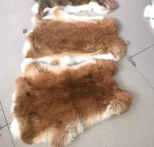 Factory Wholesale Natural tanned Rabbit Skins and all colors rabbit