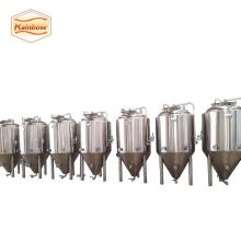 beer brewing equipment, conical beer fermenter for brewery