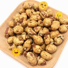 High Quality Nutrition Peanut Half Coated Sales in Bulk Packing
