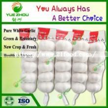 Supply Chinese Fresh Pure White Garlic with Optimum Quality