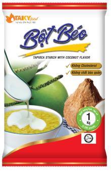 Tapioca starch with coconut flavor