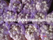 Chinese   Pure   White   Garlic  20kg/Bag