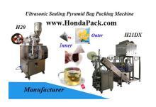 Nylon tea bag packing machine, ultrasonic pyramid tea bag packing machine