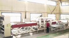 TM3000P-3 Three-tray vacuum membrane press machine with automatic PIN system China food