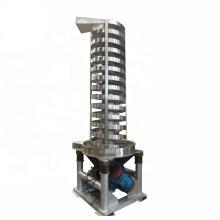 Stainless Steel Small  Pellet izer  Line  Vertical Elevator Spiral Vibrating Conveyor