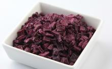 Dehydrated  purple   sweet   potato  flake and  purple   sweet   potato  powder