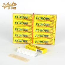 europe chewing gum banana flavor 5 stick gum