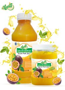 Tropic  passion   fruit   juice   concentrate d without seed 100% nature - Email: anhduynguyen@nanufoods.vn