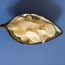 sliced garlic rich in pungency garlic allicin