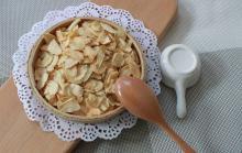 2020 crop food ingredients dried roasted garlic slices spices