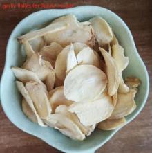 2020 white garlic food ingredients dried roasted garlic slices spices