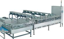 Four Rows Biscuit Sandwiching Machine